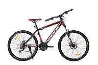 """Горный велосипед OSKAR 26""""  X Baturo 1613 черно-красный Алюминий Гарантия 12 мес."""