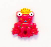Кабошон-Царевна лягушка (малиновый)