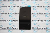 Задняя панель корпуса для мобильного телефона Sony D6603 Xperia Z3 / D6643 Xperia Z3 / D6653 Xperia Z3  черная