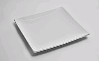 Тарелка квадратная 25.5 см без борта