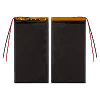 Батарея (АКБ, аккумулятор) для китайских планшетов/телефонов, универсальный, 2600 mAh, 64х125х3,0 мм