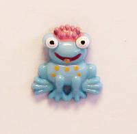 Кабошон-Царевна лягушка (голубой)