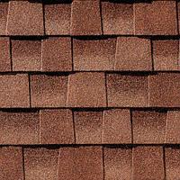 Битумная черепица GAF (ГАФ) Timberline (Тимберлайн) Sunset Brick (Сансет Брик)