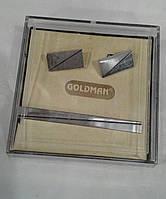 Набор зажим и запонки Goldman n003