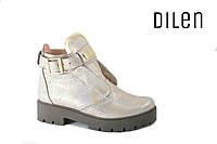 Кожаные ботинки 37