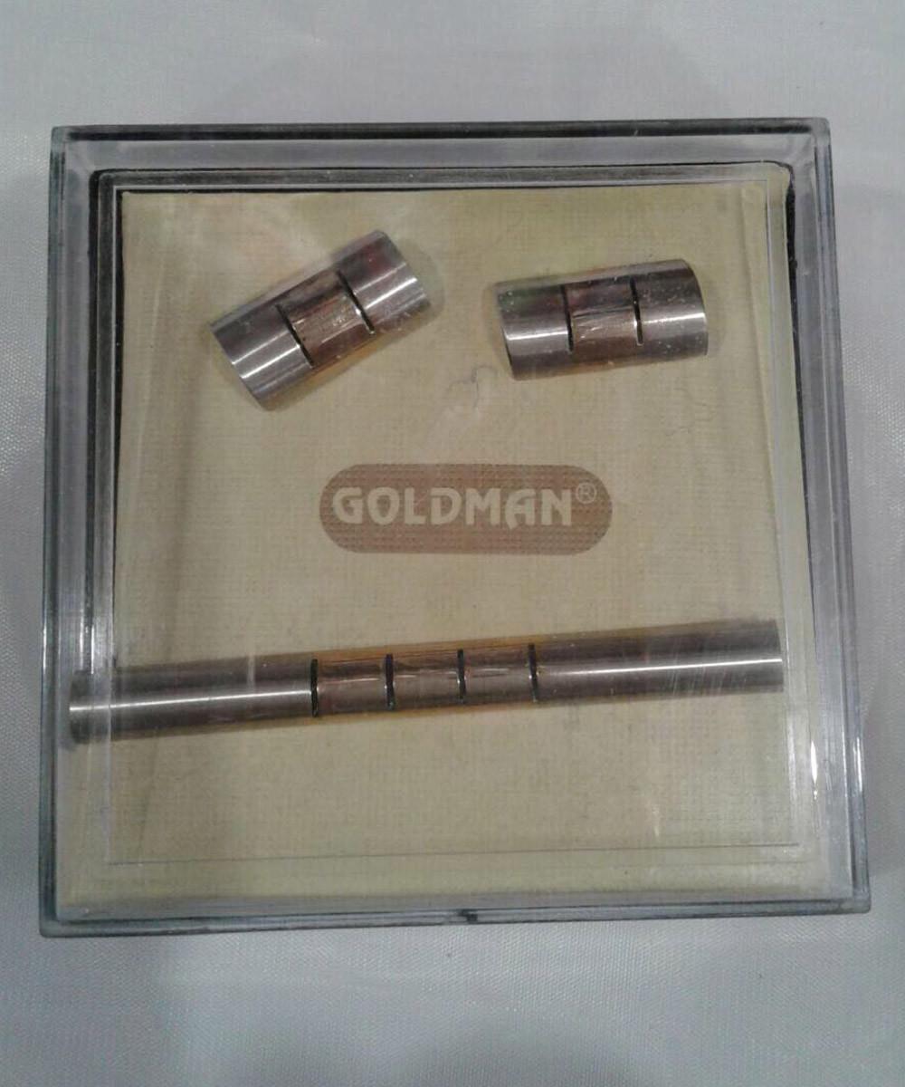 Набор зажим и запонки Goldman n004
