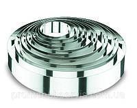 Форма круглая из нержавеющей стали d10 см \ h4,5 см, Lacor