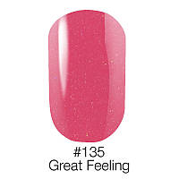 Гель лак 135 Great Feeling Naomi 6ml