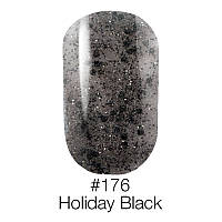 Гель лак 176 Holiday Black Naomi 6ml