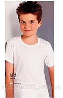 Футболка для мальчика белая Berrak 10-11 лет