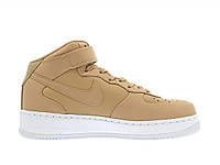 Кроссовки Nike Air Force 1 Mid Vachetta Tan White