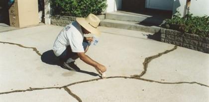 Составы для склеивания трещин, старого бетона с новым