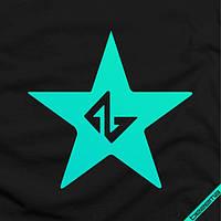 Наклейка на ткань Bezema звезда  [7 размеров в ассортименте]
