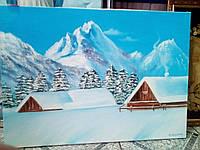 """Картина """"Зима"""", холст, масло (50х70)"""