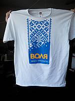 Печать изображения на футболке, надписи на футболках Киев