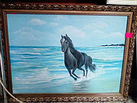 "Картина ""Лошадь"", холст, масло (50х70)"