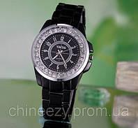 Наручные часы. Женские кварцевые часы Yintai с кристаллами. Копия Chanel Watch