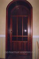 Двери арочные из дерева