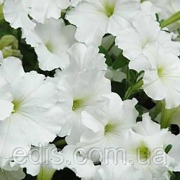 Петуния ампельная Лавина Белая F1 10 шт., дражированные семена в колбе PREMIUM