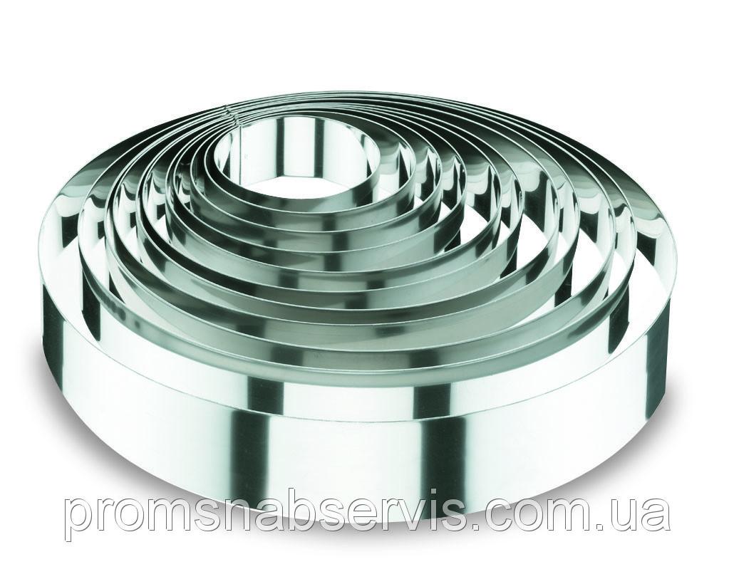 Форма круглая из нержавеющей стали d18\h6 см, Lacor