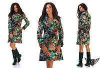 Женское пальто кашемировое цветное А1 зеленое, малина, оранжевый