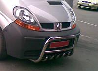 Защитная дуга, кенгурятник на Renault Trafic