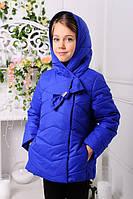 Модельная детская весенняя куртка