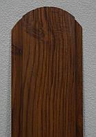 Металлический штакетник 108мм. Темный деб, венге, Золотой дуб, светлый дуб