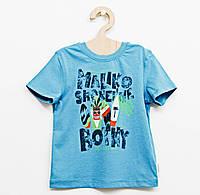 Детская футболка с рисунком  для мальчика