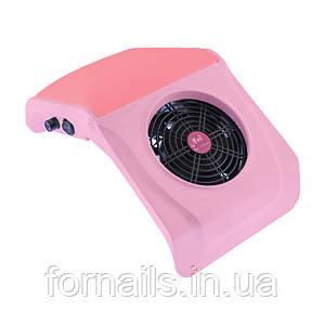 Вытяжка для маникюра 858-4, розовая