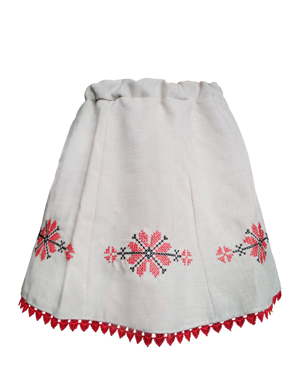 bb16e5e3a7ff48 Лляна вишита спідниця для дівчинки в українському стилі купити ...