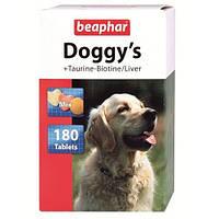 Кормовая добавка Beaphar Doggy's Mix для собак с таурином и биотином, 180 таб, фото 1