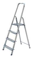 Стремянка на 4 ступени бытовая алюминиевая Elcop, ALW 404