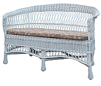 Татьяна-Прованс плетенный диванчик ЧФЛИ 1350х700х930 мм