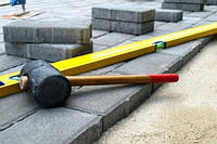 Благоустрій території за допомогою тротуарної плитки та бордюрного каменю