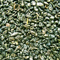 Зелёный чай Храм неба  черный порох или Ганпаудер по 200 Грамм