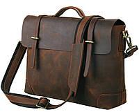 TIDING BAG Мужской кожаный портфель TIDING BAG 7082R