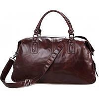 Дорожная rкожаная сумка JASPER & MAINE 7071LC коричневая