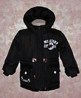 """Куртка -парка для мальчика весна-осень """"Миллитари"""" 2,3,4,5,6"""