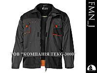 Куртка рабочая, серо-черная, FORMEN LH-FMN-J SBP