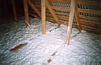Теплоизоляция пеноизолом, фото 1
