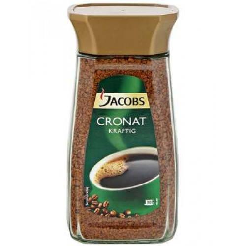Кава розчинна Jacobs Cronat Kraftig, 200 г