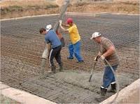 Бетонирование, укладка бетона