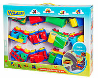 Kid cars - игровой набор с машинками, 12 шт., Wader
