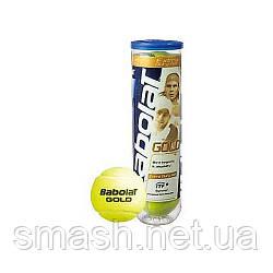 Теннисные мячи Babolat Gold Pet X3