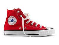 Кеды Converse All Star High Red  (35-44р.), фото 1