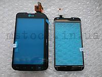Touch screen (Сенсор) LG P715 Optimus L7 II чёрный (TEST OK)