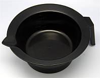 Миска для краски с резиновым кольцом, черная