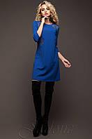 Батальная женская туника Силар_1 электрик Jadone Fashion 50-56 размеры