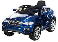 Детский электромобиль BMW X6 (голубой), фото 1